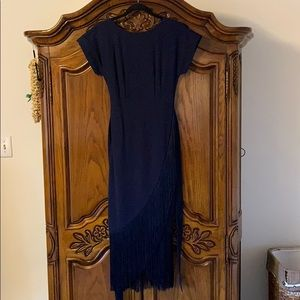 Navy Blue Evening Dress